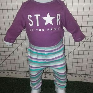 Baby Girl Outfit Size 0/3 Mos